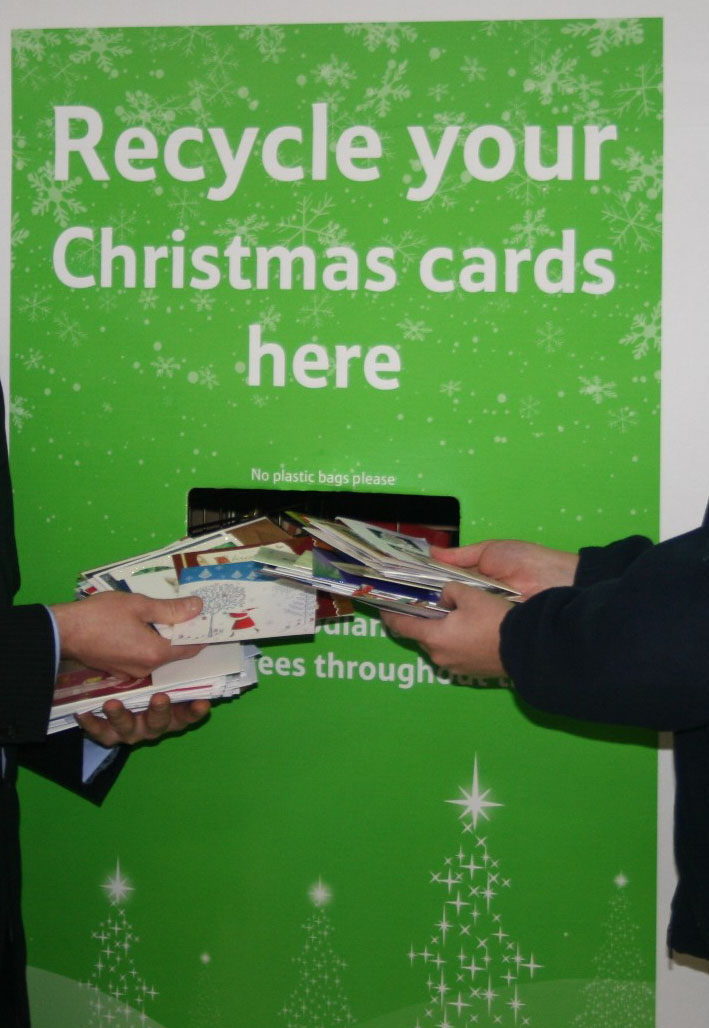 Christmas Card recycling | Cllr Fraser Macpherson